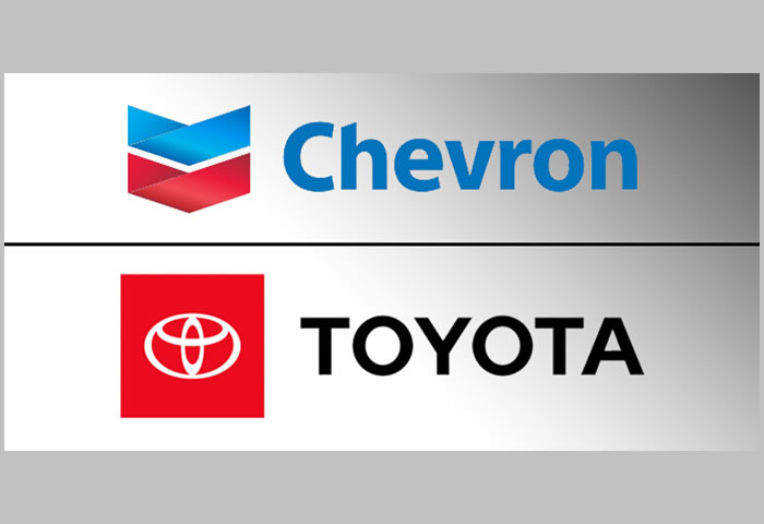 Chevron, Toyota to commercialize hydrogen technology deemed an eco-friendly fuel option