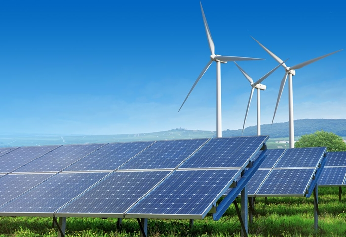 Wind and solar power at record high in 2020