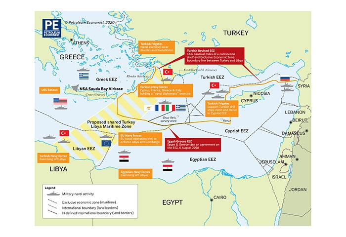Cyprus-Egypt-Greece highlight a new project for the region