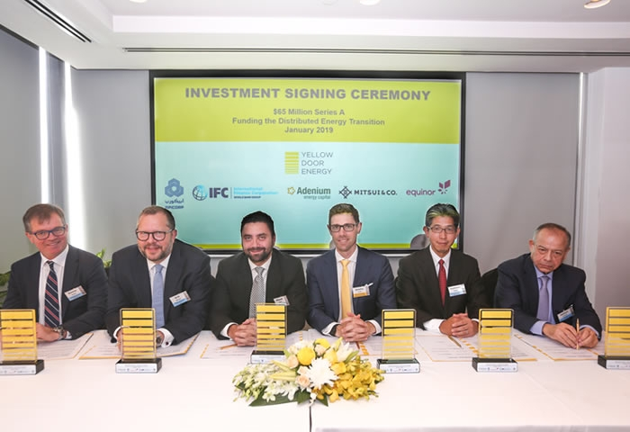 Yellow Door Energy raises large amount to improve solar energy transition in the MEA region