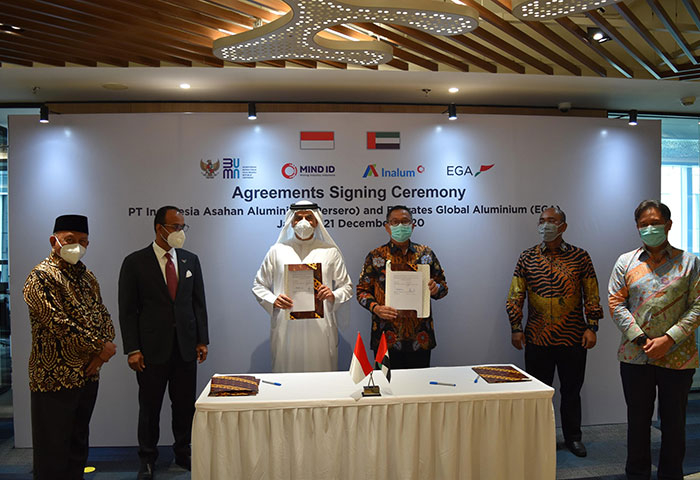 EGA signs multiple technology agreements during Indonesia UAE Week