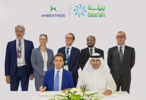 Bee'ah partners with Ambienthesis SpA to deploy more efficient waste treatment solutions