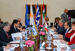 Lebanon inks deal with Cyprus on hydrocarbon