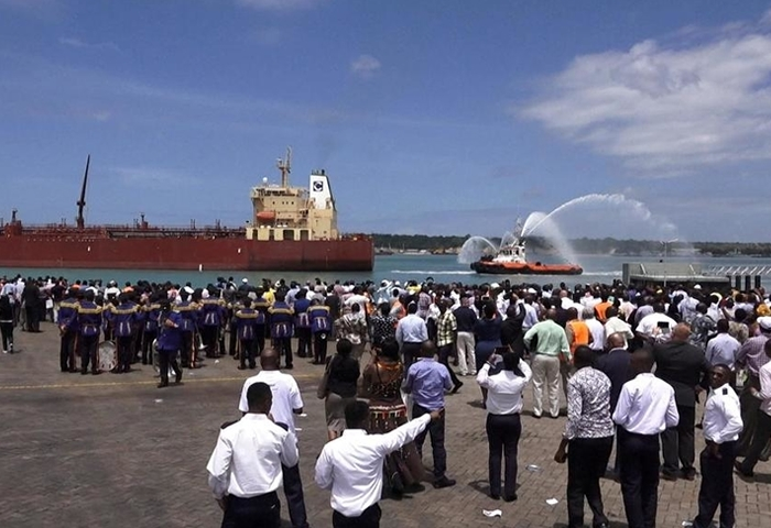 Kenya flags off first crude oil cargo