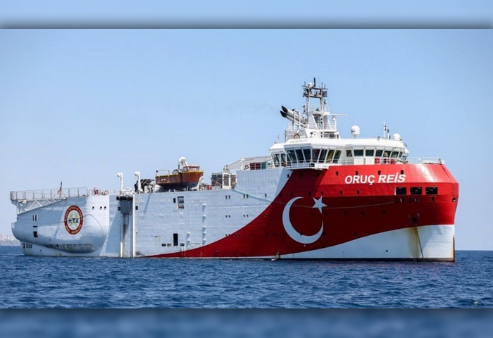 Turkish gas exploration mission: Extended