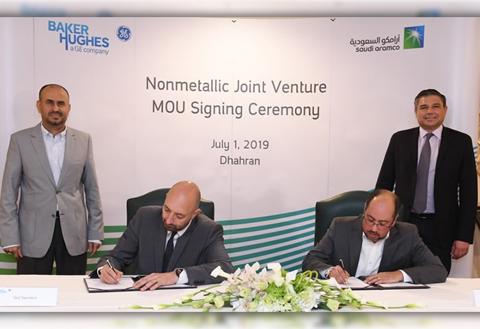 Saudi Aramco and Baker Hughes seal non-metallic materials facility deal