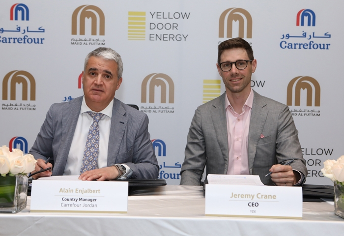 Carrefour stores to operate on solar energy