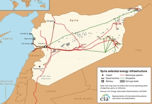 Terrorist act sabotaged Syrian gas pipeline