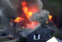 Fires, gas explosions rock multiple US towns near Boston
