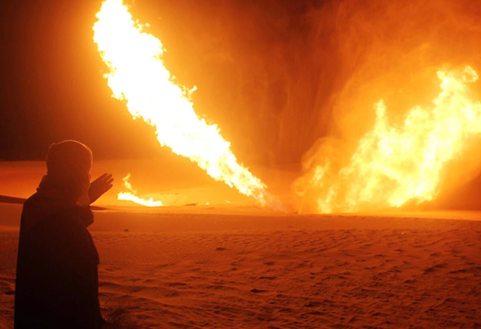 IS blows up gas pipeline in Sinai