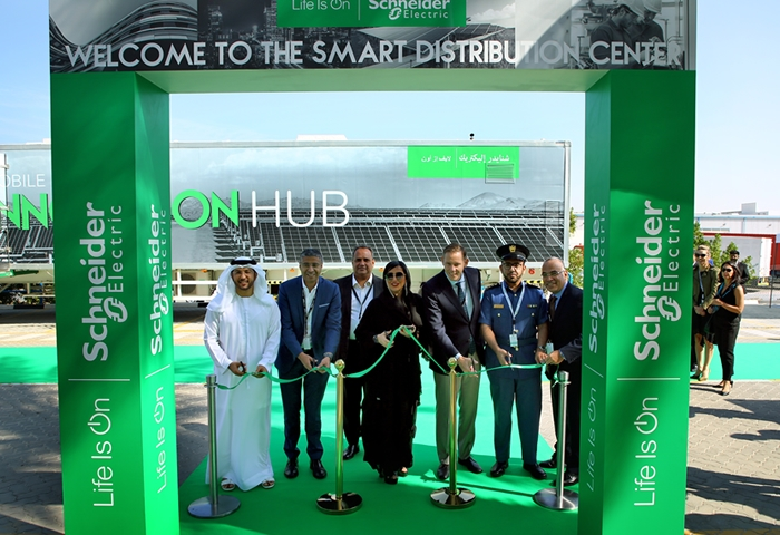 Schneider Electric opens new Smart Distribution Center in UAE