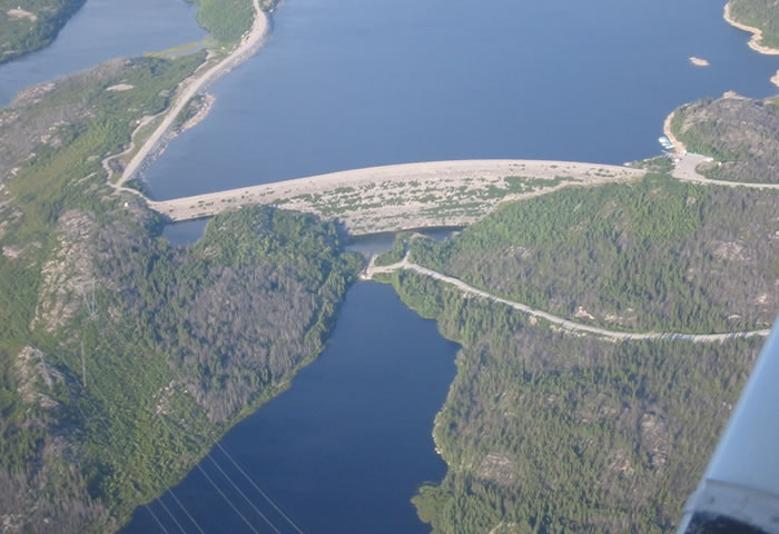 Hydroelectric dams project to be completed soon in Quebec