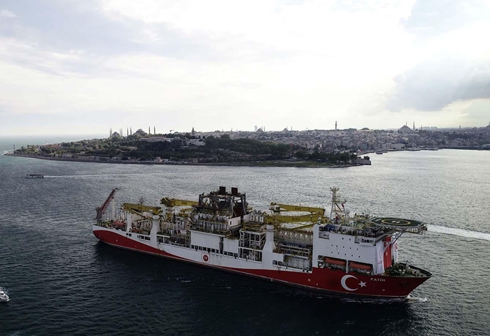 EU says Turkish gas drills off Cyprus 'must stop'