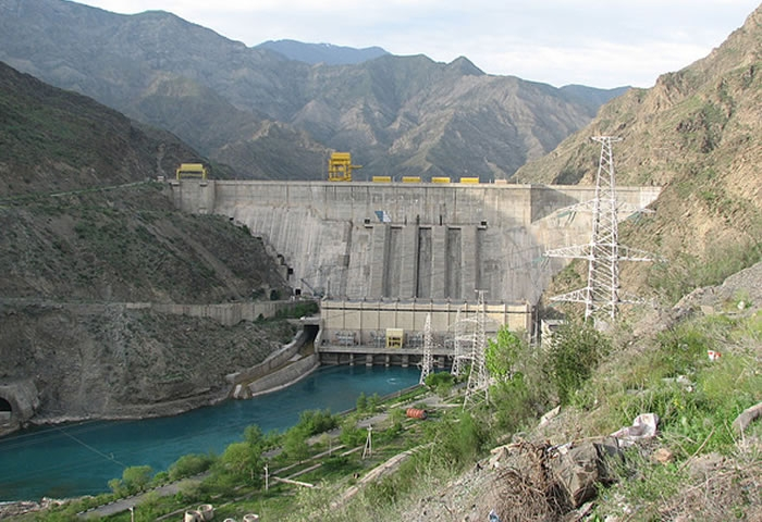 Giant dam built to eliminate power shortage in Tajikistan