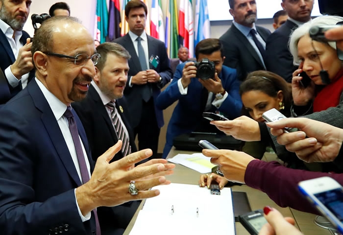 OPEC calls for a meeting for oil production cuts' assessment