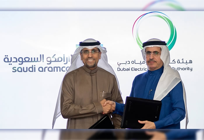 Saudi Aramco and DEWA sign MoU to deploy new energy, smart grid and digital applications